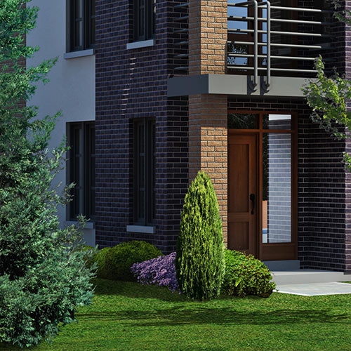 Garden Landscaping In Halifax Huddersfield West: Modern Townhomes In Port Credit Ontario By
